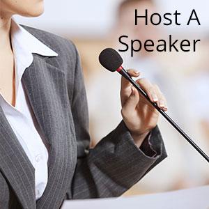 host a speaker